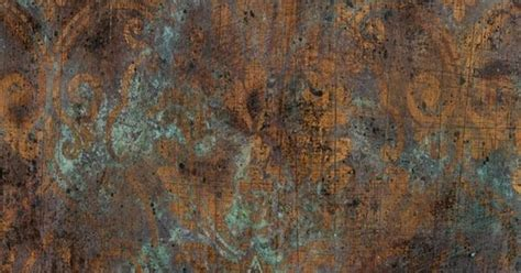 Tiny Home Interiors copper distressed walls interior patterns finishes