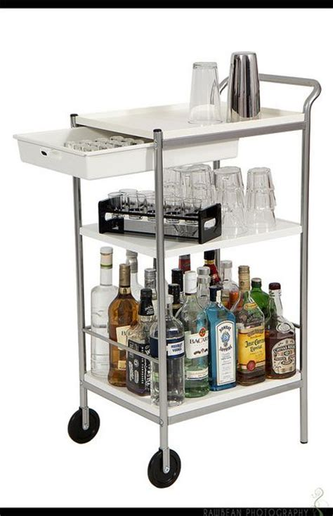 ikea utility cart ikea bygel utility cart to bar cart furniture