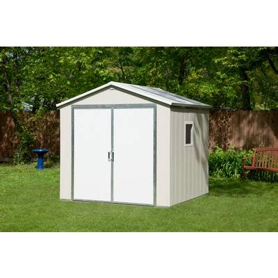 Vision Garden Sheds by Vision Outdoor Vinyl Storage Building Including Floor