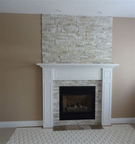 stone around fireplace fireplace restructuring from wood to gas ottawa case