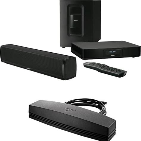 bose 174 stcinemate120 cinemate 174 120 home theater system with