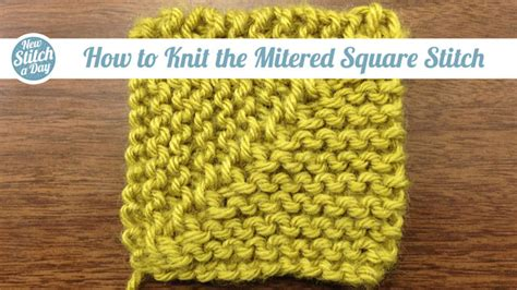 how to knit a square knits purls 5 12 new stitch a day