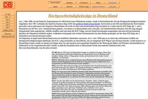 Wpc Erfahrungen 1999 by Aktuelle News Und Nachrichten 252 Ber Hochgeschwindigkeitsz 252 Ge