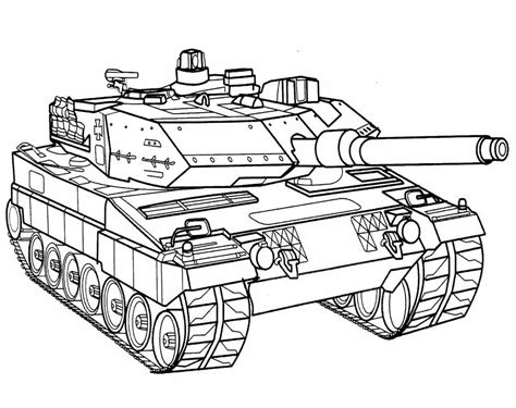 mewarnai gambar tank ayomewarnai