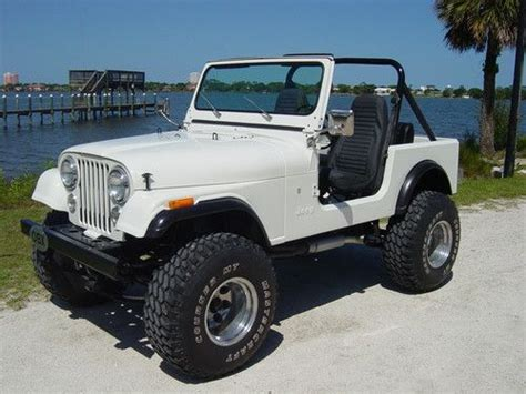 Lifted Jeep Cj7 For Sale Purchase Used 350 V8 Conversion Chevrolet Drivetrain Cj7