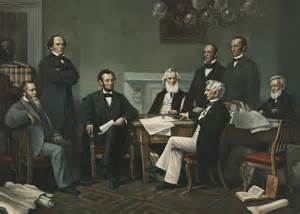 Abraham Lincoln Cabinet Lincoln S Cabinet Painting By Francis Bicknell Carpenter