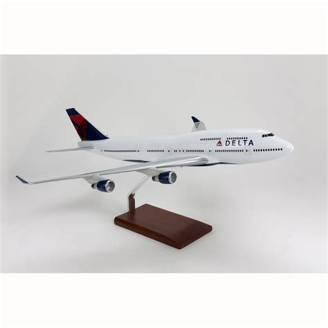 commercial model planes a747 400 delta model aircraft 1 100 scale commercial model