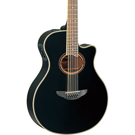 Gitar Accustik Apx New New yamaha apx700ii 12 thinline 12 string cutaway acoustic electric guitar black guitar center