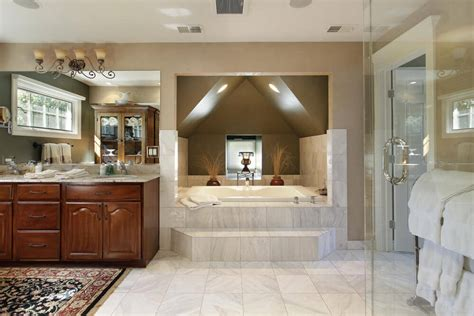 Bed Pedestal 40 Luxurious Master Bathrooms Most With Incredible Bathtubs