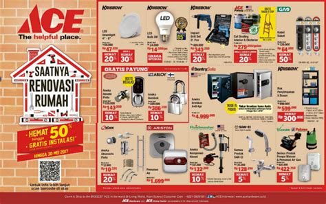 ace hardware promo koper katalog ace hardware 15 may 30 may