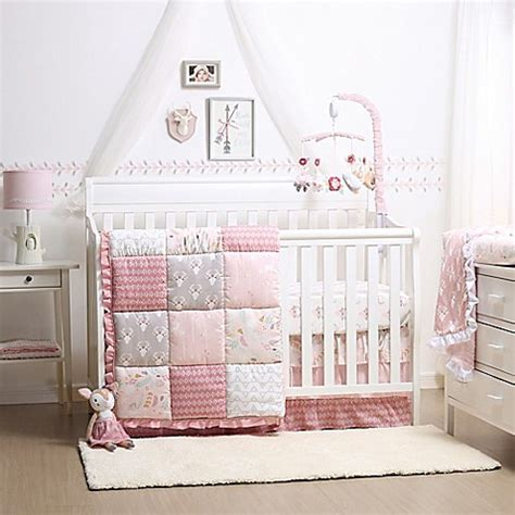 Woodland Crib Bedding Sets The Peanut Shell 174 Woodland Whimsy 4 Crib Bedding Set Buybuy Baby