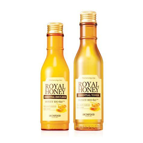 Murah Skinfood Royal Honey Essential skinfood royal honey essential emulsion toner set with gifts mykbeauty