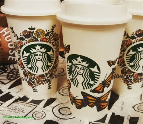 beautifully decorated reusable starbucks cups coming soon