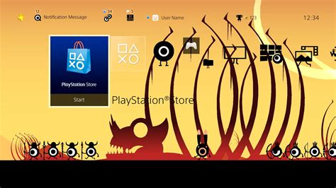 Ps4 Patapon Remastered patapon remastered dynamic theme on ps4 official