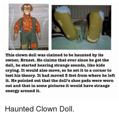 haunted doll memes 25 best memes about haunted clown doll haunted clown