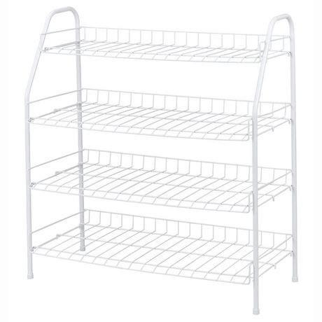 4 tier shoe rack walmart canada