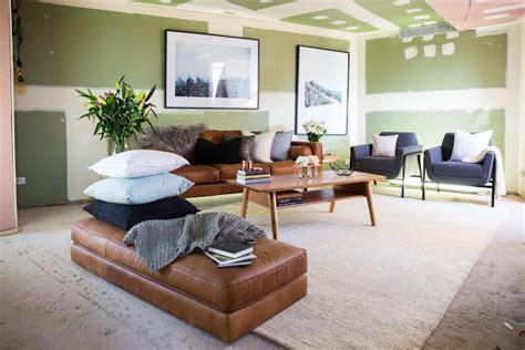 the block living rooms the block living room reveals week 6 the interiors addict