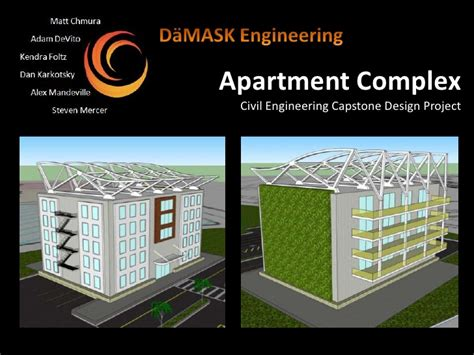 design brief civil engineering civil engineering capstone apartment complex