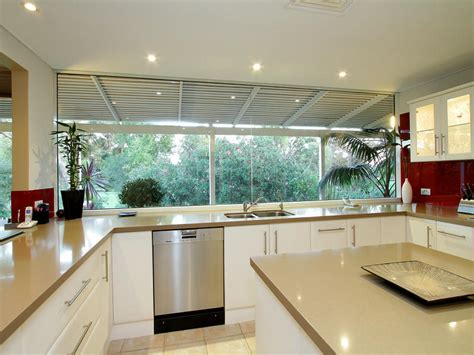 kitchen glass design modern island kitchen design using glass kitchen photo