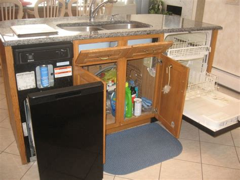 awesome kitchen island portable dishwasher with sink storage solutions for kitchen also