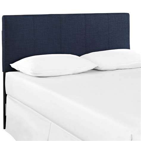 padded leather headboard oliver contemporary padded faux leather headboard navy