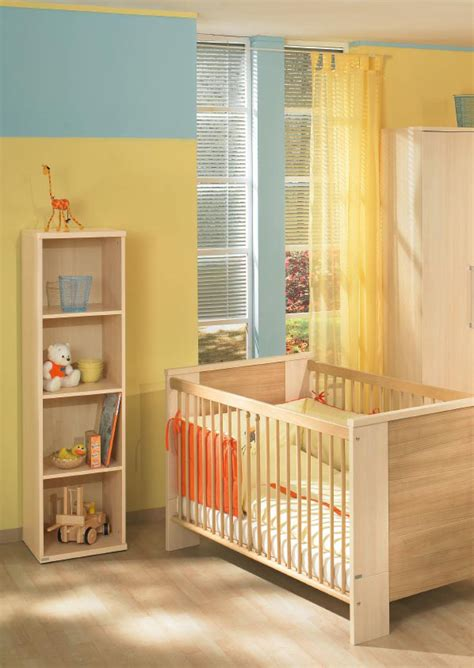Baby Room Sets by Picture Of White And Wood Baby Nursery Furniture Sets By Paidi
