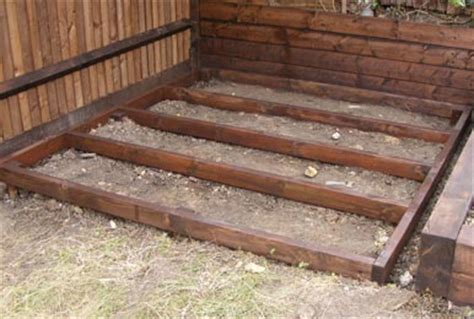 shed plans   build  shed base  uneven ground   build amazing diy outdoor sheds