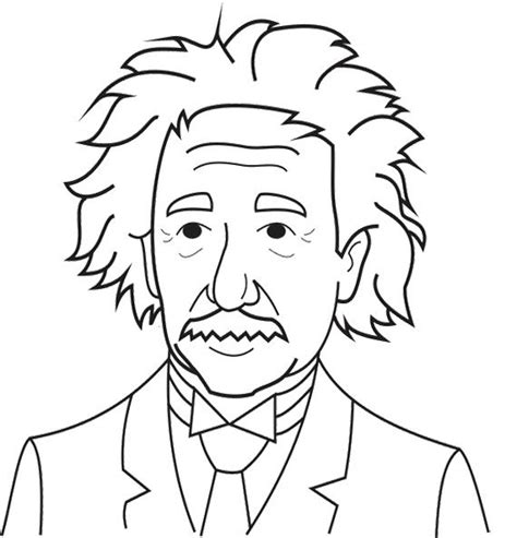 Einstein Coloring Pages albert einstein coloring pages for coloring pages pint