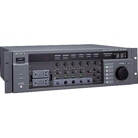 Mixer Sony sony srp x500p digital powered a v matrix mixer srp