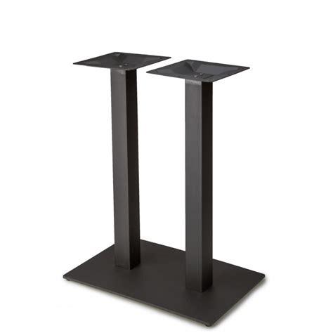 black table l base plaza 1828 black table base plaza series table bases