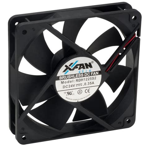 120 x 120 x 25mm fan x fan rdh1225s2 120 x 120 x 25mm axial fan 24v sleeve