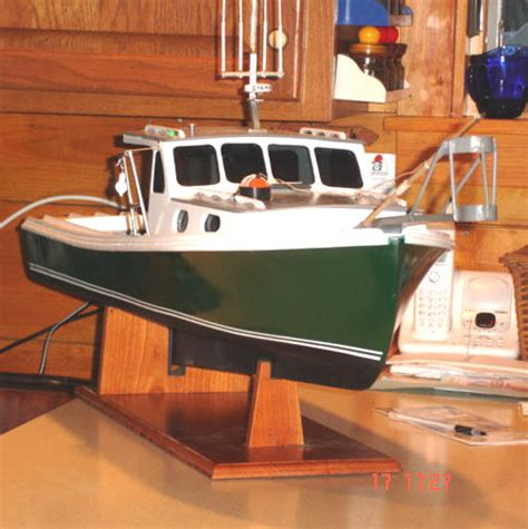 lobster boat model lobster boat models scale models maine hand crafted