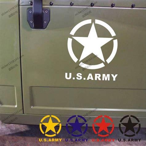 Aufkleber Jeep Stern by 40cm Hoch Uns Armee Sterne Usmc Ww2 Vinyl Auto Aufkleber