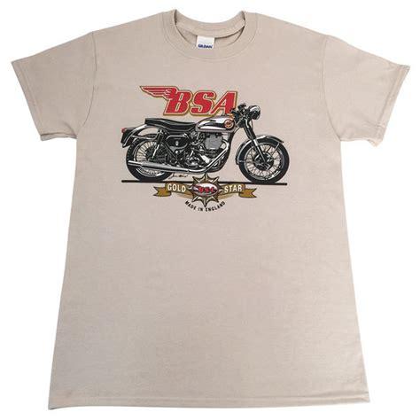 Tshirt Bsa bsa gold motorcycle t shirt national motorcycle