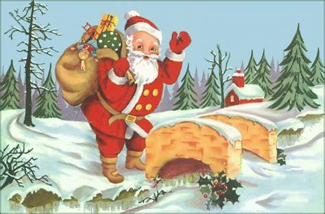 santa coming to town holiday christmas santa santa