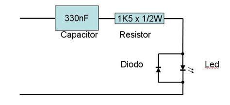 capacitor dropper led ligar led no 220v capacitor de poliester esta correto eletr 244 nica clube do hardware