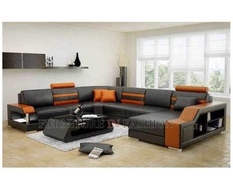 orange and black sofa manicchi sectional leather sofa in black and orange buy