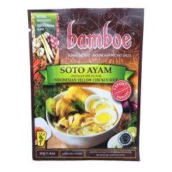 Bumbu Bamboe Soto Ayam toko bu yati epicerie indon 233 sienne et asiatique toko