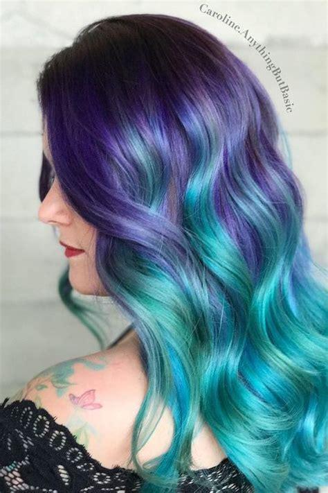hair mermaid 12 mermaid hair color ideas amazing mermaid hairstyles