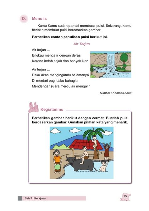 Bahasa Indonesia Karakter Sd Kelas 3 bahasa indonesia kelas 3 sd