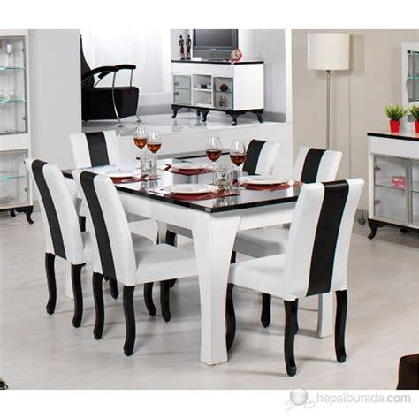 yemek masasi dessenti lim a 231 ılır yemek masası siyah beyaz fiyatı