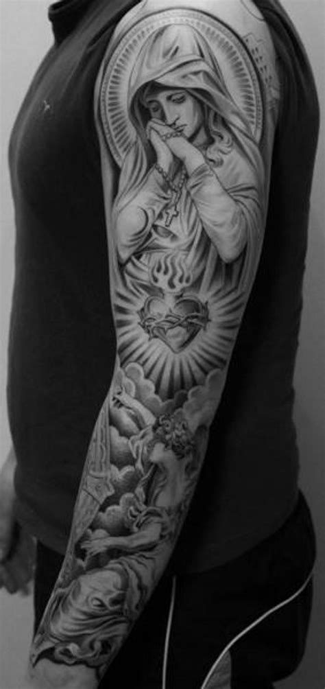 tattoos and religion 53 adorable religious shoulder tattoos