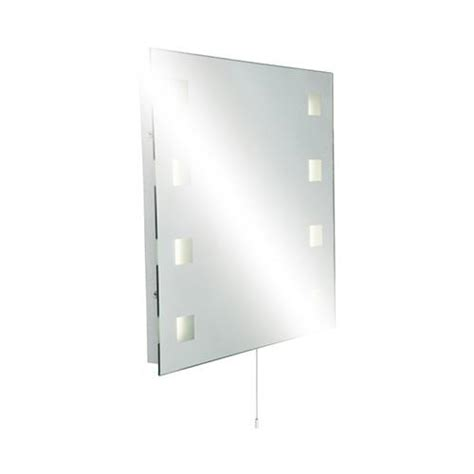 square bathroom mirror knightsbridge square bathroom mirror light mirror lights