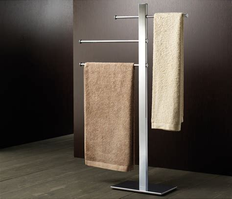 Bathroom Towel Stand by 3 Rung Chrome Towel Stand Towel Racks