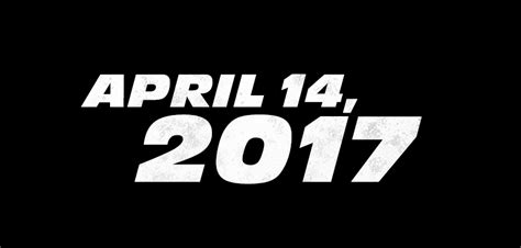 Fast And Furious 8 April 14 2017 | furious 8 set to release on april 14 2017 nerd reactor