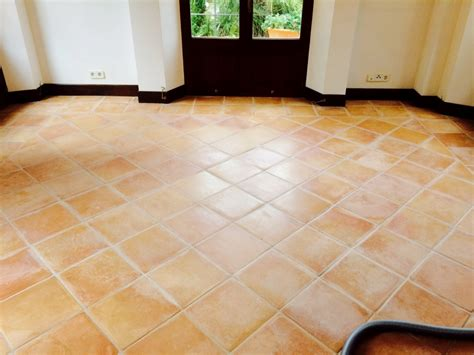 spanish floor spanish terracotta floor cleaned and sealed in mallorca
