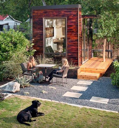 diy backyard studio 9 sources for midcentury modern sheds prefab diy kits