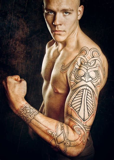 norwegian tribal tattoos norse tribal tattoodenenasvalencia