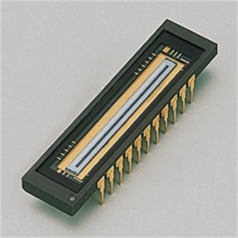 curved linear diode array detector nmos linear image sensor s3903 1024q hamamatsu photonics