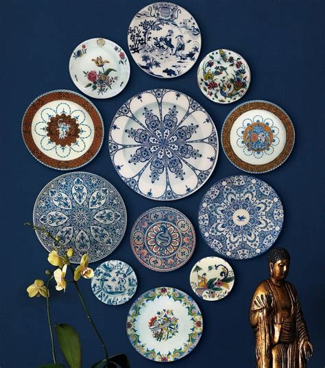 Decorative Hanging Plates by Obsessed Derian S Faience Wall Hanging D Magazine